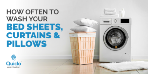 How Often To Wash Your Bedsheets, Curtains & Pillows