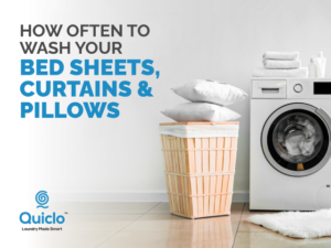 How Often To Wash Your Bedsheets, Curtains and Pillows