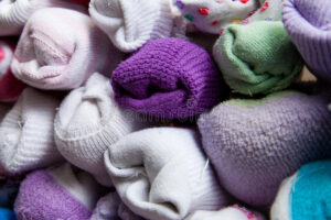Keep socks paired in a mesh bag to avoid losing one - Laundry tips and tricks