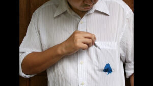 Remove ink stains from your clothes - Laundry tips and tricks