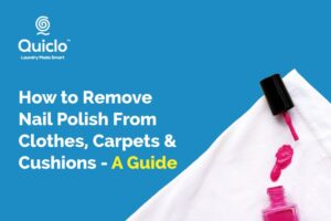 How to Remove Nail Polish From Clothes, Carpets and Cushions