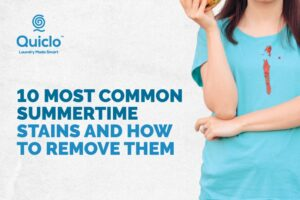 Most Common Summer Stains and How to Remove Them - Quiclo