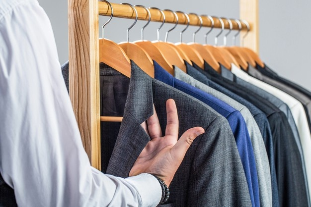 How often should you dry clean a suit jacket