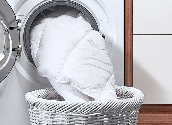 Comforters and Duvet - Laundry Tips For Hard to Wash